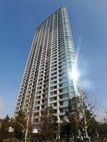 外観:41階建て超高層制震タワー