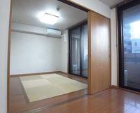 :安心する和室スペース