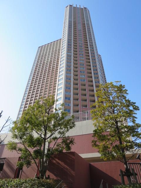 外観:平成18年築・48階建のタワー