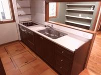 キッチン:ディスポーザー・食洗器付システムキッチン