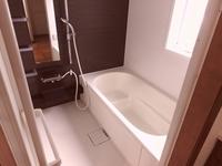 浴室:窓付のバスルーム